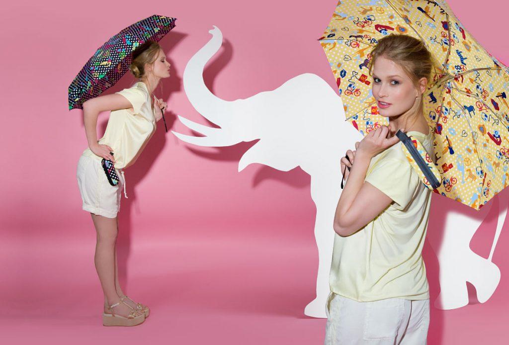 Paraguas con protección UV